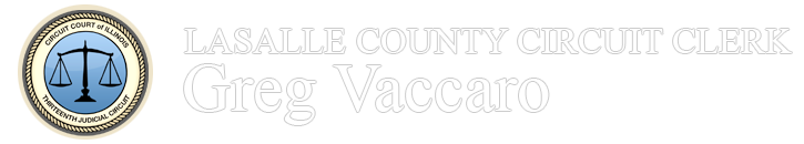 LaSalle County Circuit Clerk Greg Vaccaro logo footer position